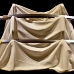 sopra: Mutsu no Kami Tachibana Terumasa - Scuola Kuniteru di Setsu (seconda metà del XVII)  sotto: Bizen no Kami no Ju Osafune Sukesada saku - Scuola Sue Bizen (1571)