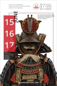 Locandine del Samurai Art Expo.